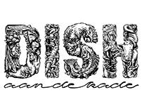 Logo DISH aan de kade