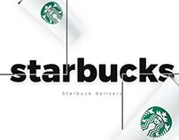 Starbucks delivery concept