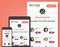 WohooII – Email Notification Template
