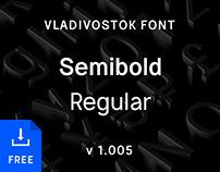 Vladivostok Font — Latin & Cyrillic Sans-Serif Family
