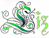 Liz Calligraphy