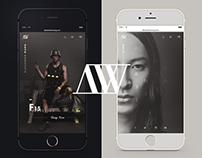 Alexander Wang  |  Redesign Concept