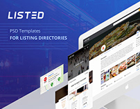 Listed - listing directory template