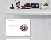Corporate values - poster design