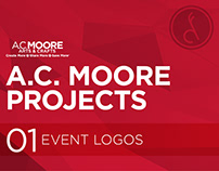 A.C. Moore Projects :: Event Logos