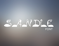 Sandle freestyle font