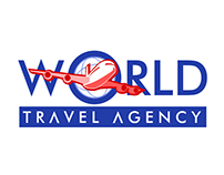 Logo Design: World Travel Agency