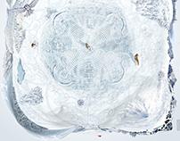 white win silk 140x140 sm