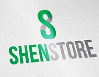 """Logo for """"ShenStore"""""""