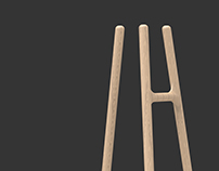 INFISSI coat stand