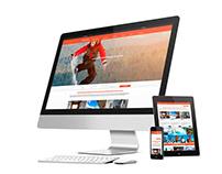 Página Web de Agencia Inmobiliaria Frontera Blanca.