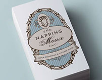 Custom Logo for The Napping Mouse