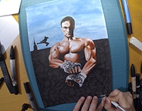 Kickboxer - Speed Painting JCVD