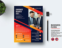 Minimal Corporate Flyer Template