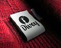 Projeto de naming e branding para a loja Divey.