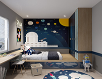 Boy kid room