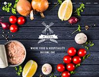 H-Code Restaurant Wordpress Theme