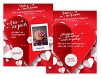 Instax ton Valentin - Appli Facebook