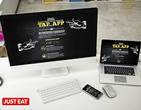 "Responsive mobile app landing page - ""Tap That App"""