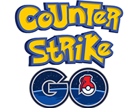 CS:GO Pokemon GO Logo Style and T-Shirt
