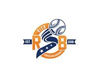 Rick Strickland Baseball Company Logo Design