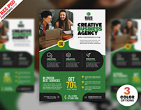 Business Advertisement Creative Flyer PSD