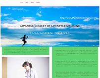 Simple WebSite for Japanese medical Lifestyle Medicine