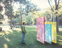 Voices of Trinity Bellwoods Park (Design Installation)