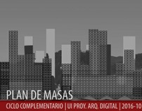 2016.10_UI Proy. Arq. Digital_Plan de Masas