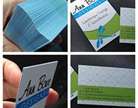 Ann Bowe Business Cards - moo faux letterpress