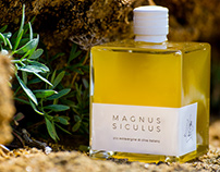Magnus Siculus - Logo design, packaging and website