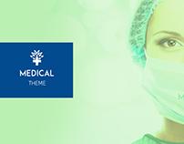 MEDICAL - WEB DESIGN CONCEPT THEME