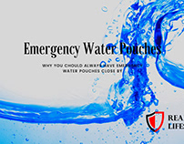 Emergency Water Pouches