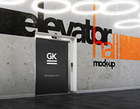 Elevator Hall Mock-up with Animation