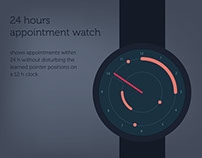 24h Appointment Watch