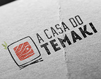 A Casa do Temaki - Redesign de Marca