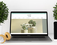 Website and Logo Design: Seed and Soil
