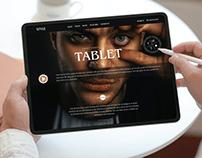 Free Modern Tablet Mockup