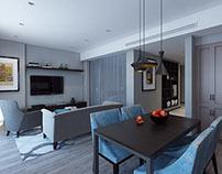 Apartment 2 in Port Baku Residence