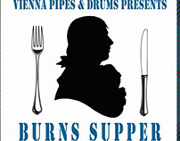 Burns Supper. Poster Design.