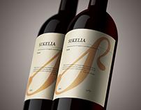SIKELIA-Wine label