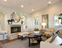 Transitional, Mediterranean, Full Home Staging