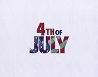 FOURTH OF JULY MACHINE EMBROIDERY DESIGN