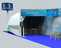 Propose idea for Singapore Airline promotional booth