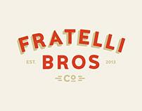 Fratelli Bros Gelato - Visual Identity