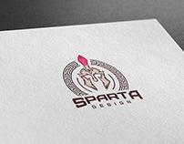 "Логотип дизайн студии ""Sparta Design"""