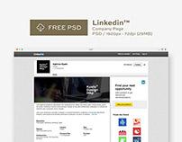 Mockup Linkedin PSD