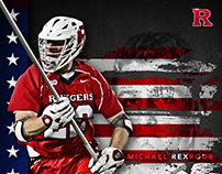 2017 Rutgers Men's LAX Creative