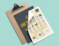 Web Design and Branding for Love Thy Burger