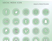 Social Media Icon - by Stefania Porcedda